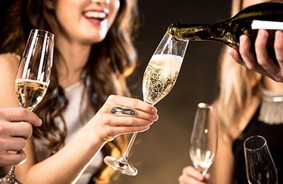 Champagneprovning aktivitet möhippa