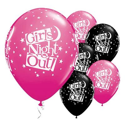 Ballonger girls night out möhippa