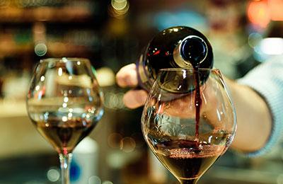 Vinprovning aktivitet möhippa